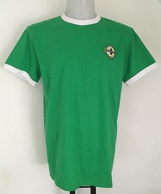 Northern Ireland S/S Retro Home Shirt  Size Adult Large Brand New no tags