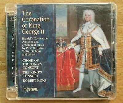 OOP*Hyperion 2xHybridSACD [2001]~The CORONATION OF KING GEORGE II~King's Consort