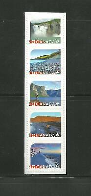 BOOKLET STRIP     UNESCO HERITAGE SITES CANADA  #  2723ai * 2