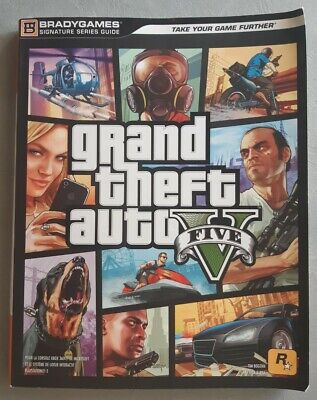 Guide stratégique GRAND THEFT AUTO V GTA 5 - Xbox 360 PS3 - Bradygames - BE