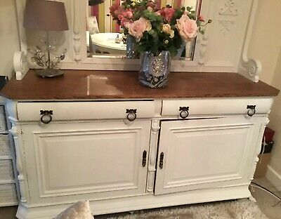 Antique Sideboard, Georgeous Shabbychic, Really Beautiful Piece Of Furniture