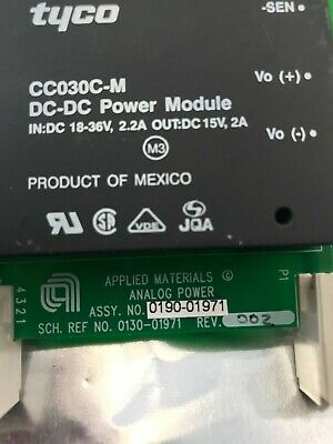 0190-01971 Applied Materials Analog Power Controller