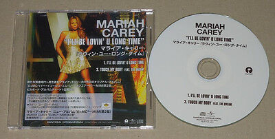 Mariah Carey I'll Be Loving You Long Time Japan Promo 2 Trks CD Single RARE