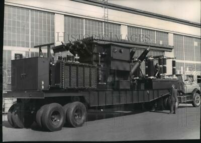 1963 Press Photo Mobile Substation Unit Recently Purchased By WWP - spx18206
