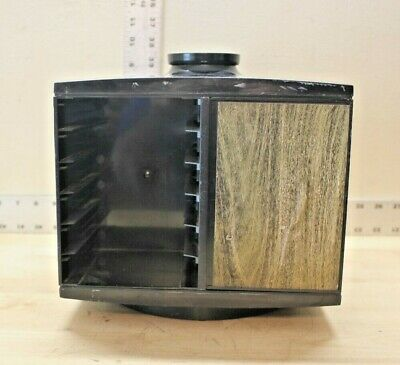 Music Vintage Esmond 1970 Carousel Storage Holder For 24 Eight Track Tape Cartridges