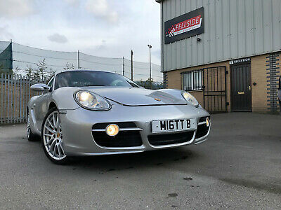 2006 Porsche Cayman 3.4 S accident damaged salvage repaired not spares repair