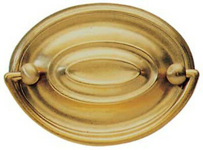 """2.5"""" Antique Regency Style Solid Brass Oval Handle 3541A"""