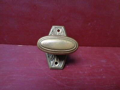 "1 More Avail Vintage Cast Brass Mortise Lock Thumb Turn 3/16"" X 3/4"" #17"