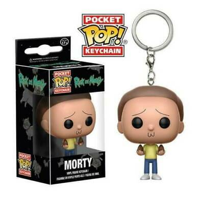 Rick and Morty Pocket Pop! Funko Morty Vinyl Figure Keychain Rick and Morty