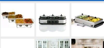 Buffet Party Serve-Rite Buffet Serving Set, The Food Warm,Chaffing CHAFFING DISH