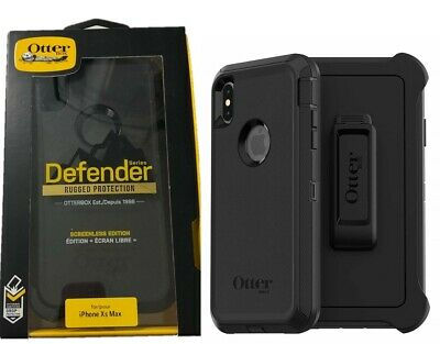 OtterBox Defender Case With Holster for iPhone XS Max Black Screenless Edition