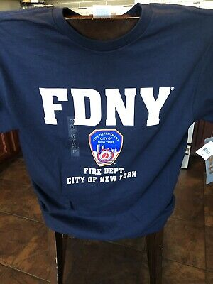 FDNY Shirt T-Shirt Officially Licensed by The New York City Fire Department M
