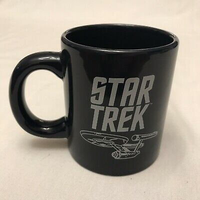 "Star Trek USS Enterprise TOS ""Blueprint"" Ceramic Coffee Mug 2011 12 oz."
