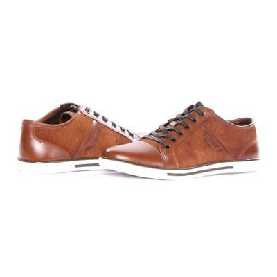 Kenneth Cole Chaussures Bas N Rond Mode Hommes Rouille Neuf