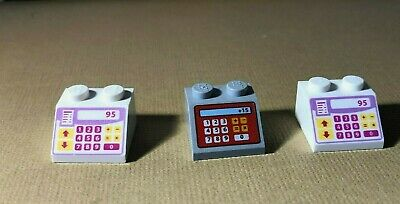 LEGO Minifigure Pink Cash Register Gray Printed Roof Slope 2x2 Friends Shop Tool