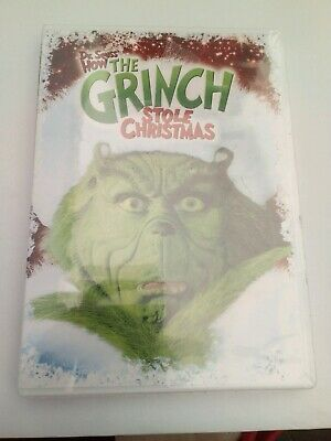 New Sealed Dr. Seuss' How The Grinch Stole Christmas DVD