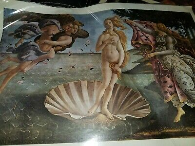 Sandro Botticelli The Birth of Venus Renaissance Painting Fine Art Canvas Print