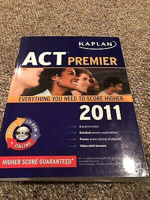 ACT TEST GUIDE - Kaplan 2014 with Practice tests on DVD
