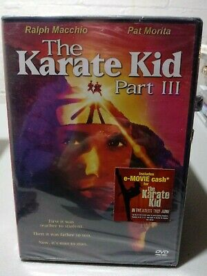 BRAND NEW, FACTORY SEALED - The Karate Kid Part III (DVD, 2001) - FREE SHIPPING