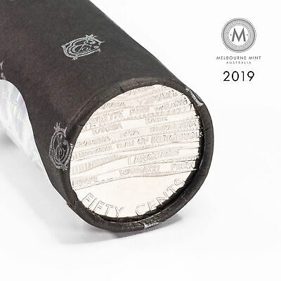 2019 Australian 50c Fifty Cent Indigenous Languages Cotton & Co Roll (FV $10)