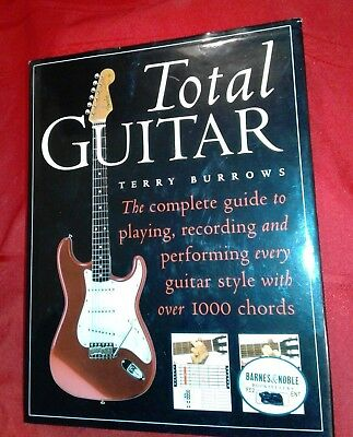 Terry Burrows Total Guitar Hard Cover Book