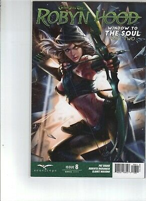 ~ Zenescope ~ 3A cover FN Grimm Fairy Tales Presents : Robyn Hood #3