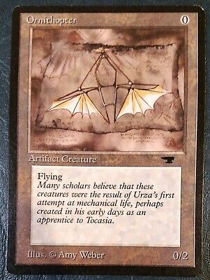 Ornithopter Light Played MTG Antiquities Magic