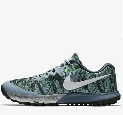 beefacb8f95 NIKE AIR ZOOM Terra Kiger 4 Trail Running Shoe Forest Camo 880563 ...