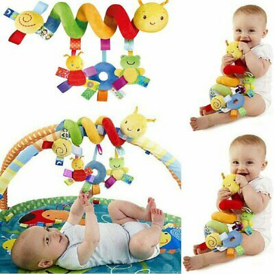 Baby Toys Infant Hanging Rattles Around The Bed Stroller Revolves Crib Toy Gift