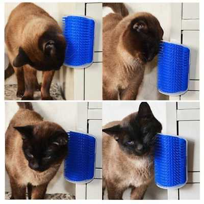 Pet Cats Self Groomer Supplies Cat Brush Tool Device Cat Massage Catnip·Toy SELL