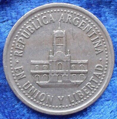 ARGENTINA - 25 centavos 1994 KM# 110a Monetary Reform (1992) - Edelweiss Coins