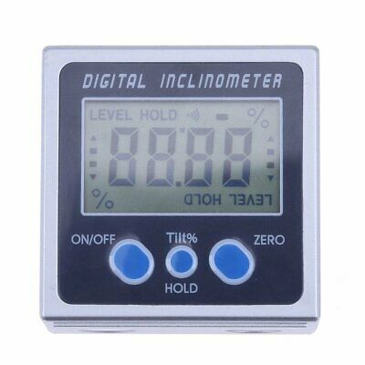 Digital Protractor Inclinometer Level Box Angle Meter Angle Gauge Magnetic Base