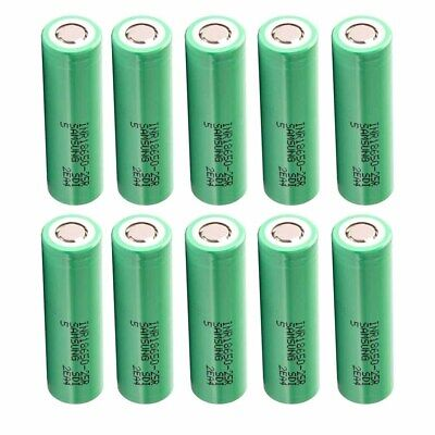 Wholesale Samsung 18650 25R 2500mAh 35A High Drain Rechargeable Battery CASE