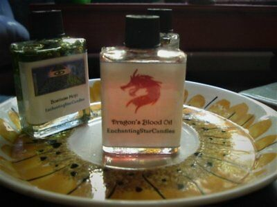 Dragon's Blood Oil Conjure Oil - Success, Protection