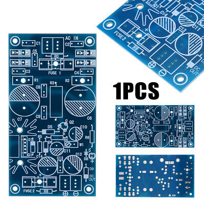 Low Noise Distortion Power Supply PCB LM317 LT1083 LM1085 LM350 Supply Bare Kit