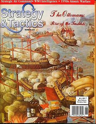 NEW Strategy & Tactics, S&T #222 The Ottomans: Rise of the Turkish Empire, UP