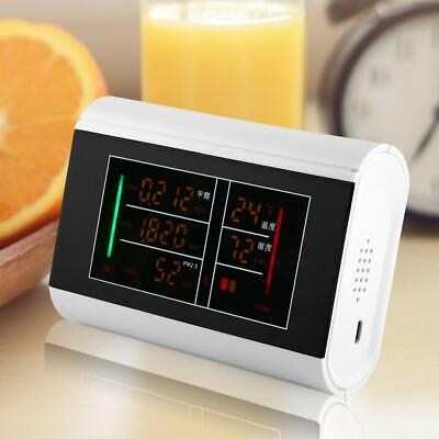Formaldehyde Air Quality Pollution PM2.5 Monitor Meter Tester Detector TVOC HCHO
