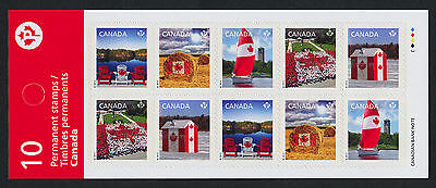 Canada 2616c Booklet BK521a MNH Canadian Pride, Flag, Yacht (Security Printing)