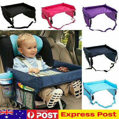 Baby Car Seat Lap Tray Snack N Play Portable Table Kid Child Travel Pushchair AU