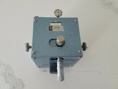 W740 TRG WR10 UG387 Waveguide Slotted Line  75 to 110 GHz