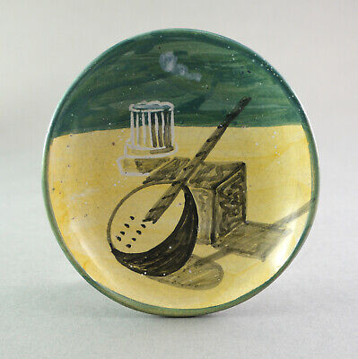 Vallauris GRAND CHÊNE Art Poterie 1950 Bol Dish Schale MidCentury Picassso Style