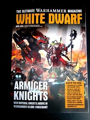 White Dwarf Magazine April Issue 2018 (new)