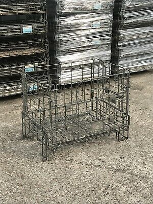 Cage Pallet, Wire Basket, Log Store, Stillage, Collapsable
