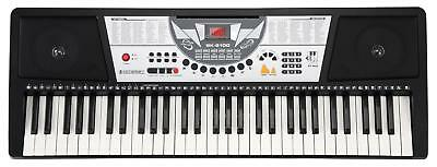 Clavier Numerique Piano Digital Synthetiseur 61 Touches 100 Sons & Rythmes Led
