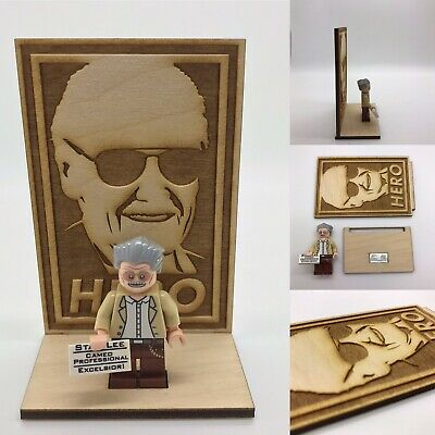 LEGO Stan Lee Minifigure and Plaque