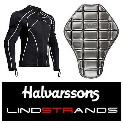 Halvarssons Torso Stretch Ce Armoured Motorcycle / Bike Under Shirt - Rrp £99