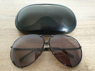 fb3f74cb9c Vintage PORSCHE DESIGN 5623 90 by CARRERA Black Sunglasses Made in Austria