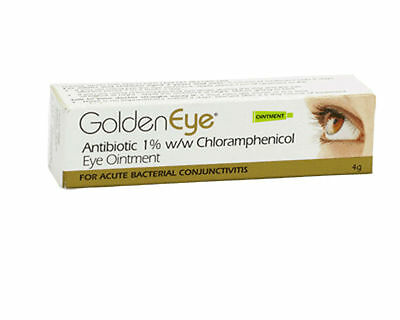 Golden Eye Infected Eyes Ointment 4g bacterial conjunctivitis eye infections NEW