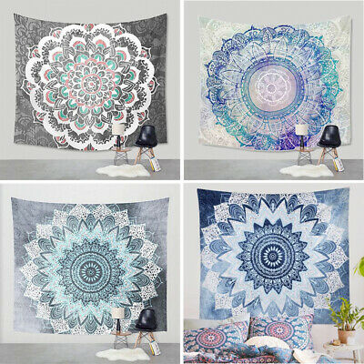 Tapestry wall hanging hippie cheap Polyester Pattern Blanket Hippie Home Decor