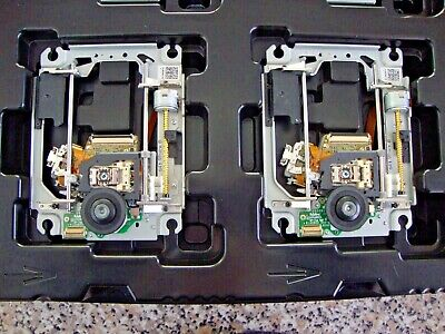 2 x SONY PLAYSTATION 3 BLU RAY KEM-400AAA DECKS WITH KES-400A LASER REPLACEMENT